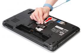 Как заменить жесткий диск ноутбука